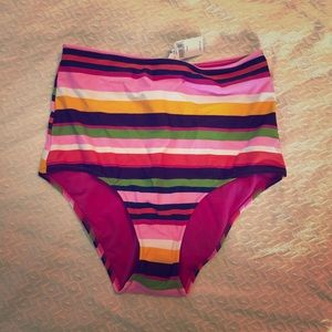 Striped Aerie swim bottom